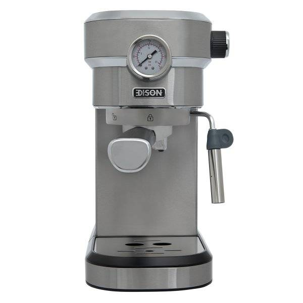 إديسون صانعة قهوة اسبريسو استيل 1.1 لتر 1350 واط