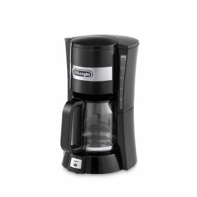 ديلونجي جهاز صانع القهوة بالتقطير اسود