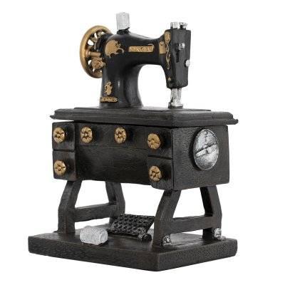 تحف طاولة شكل مكينة خياطة