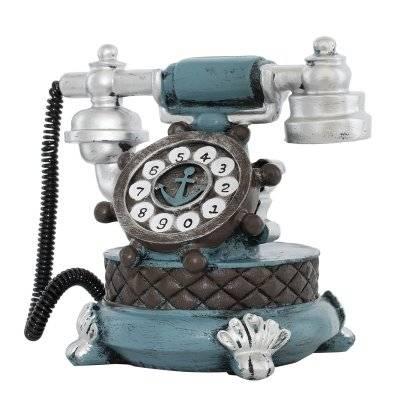 تحف طاولة شكل هاتف أزرق