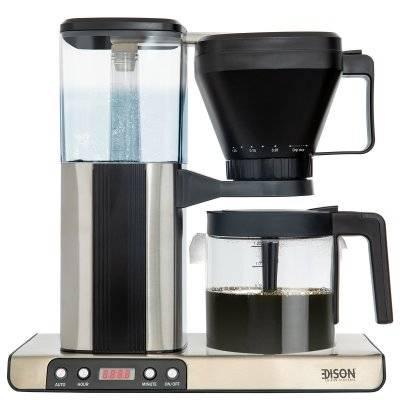 إديسون آله قهوة 1.25 لتر رمادي