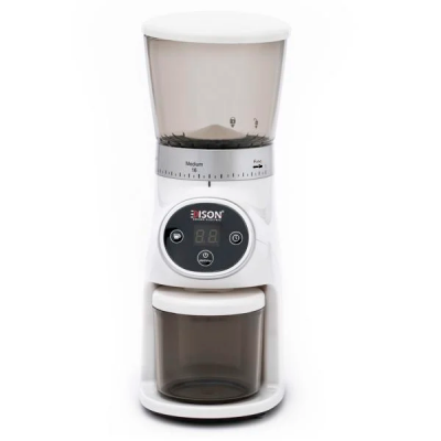إديسون مطحنة قهوة ديجيتال أبيض 200 واط