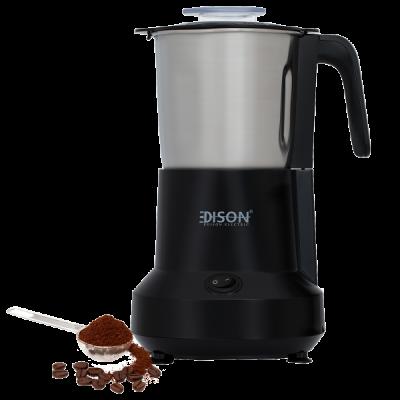 إديسون مطحنة قهوة أسود 400جرام 450واط