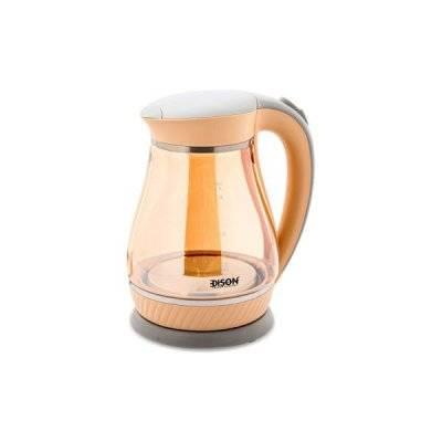 إديسون غلاية ماء كونترول برتقالي 1.7 لتر