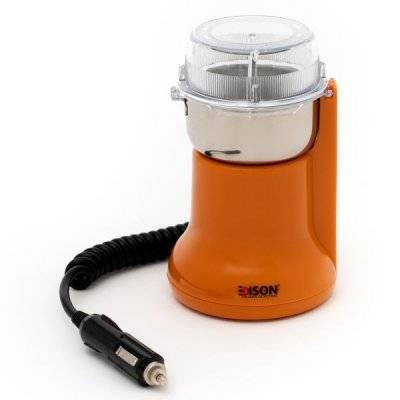 إديسون مطحنة قهوة بشاحن سيارة برتقالي 180 واط