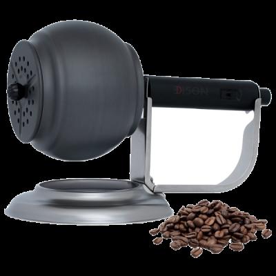 إديسون محمصة قهوة رحال ذاتي الدوران