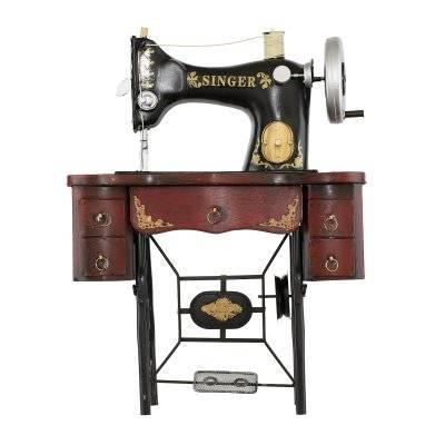 تحفة طاولة شكل مكينة خياطة